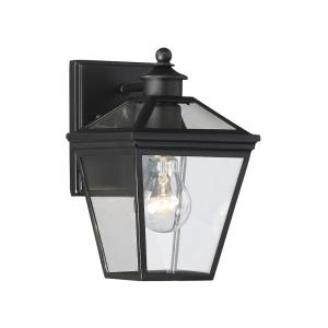 Ellijay 9.5 Inch Outdoor Wall Lantern Modern Farmhouse Steel Approved for Wet Locations