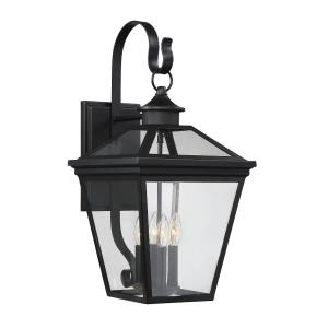 4 Light Outdoor Wall Lantern - Modern Farmhousestyle with Rustic and Transitional inspirations - 25.25 inches tall by 12 inches wide
