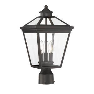 Ellijay - 3 Light Outdoor Post Lantern