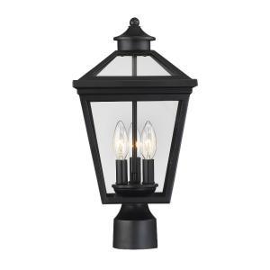 Ellijay - Three Light Outdoor Post Lantern