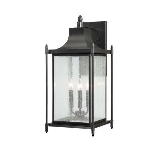 Dunnmore - Three Light Outdoor Wall Lantern
