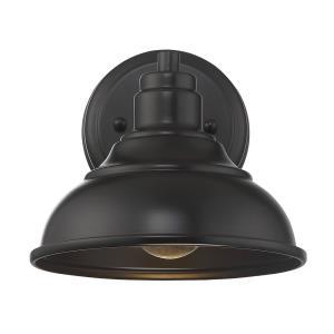 Dunston - 8 Inch One Light Outdoor Dark Sky Wall Lantern