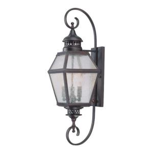 Chimnea 27.5 Inch Outdoor Wall Lantern Traditional Steel Approved for Wet Locations