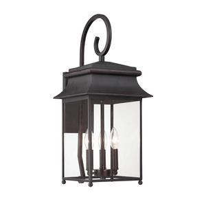 Durham - Three Light Outdoor Wall Lantern