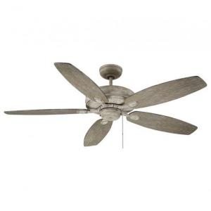 5 Blade Ceiling Fan - Transitionalstyle with Traditional inspirations - 8.6 inches tall by 52 inches wide