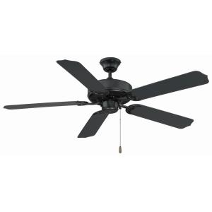 5 Blade Ceiling Fan - Traditionalstyle with Transitional inspirations - 14.96 inches tall by 52 inches wide