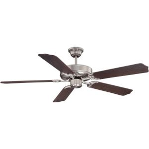 5 Blade Ceiling Fan-Traditional Style with Transitional Inspirations-8.99 inches tall by 52 inches wide
