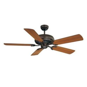 5 Blade Ceiling Fan - Traditionalstyle with Transitional inspirations - 8.69 inches tall by 52 inches wide