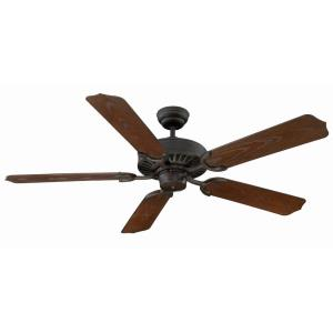 5 Blade Ceiling Fan - Traditionalstyle with Transitional inspirations - 9.58 inches tall by 52 inches wide