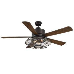 Connell - 56 Inch Ceiling Fan with Light Kit