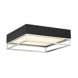 Creswell - 14 Inch 60W 1 LED Square Flush Mount