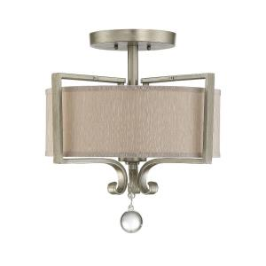 Rosendal - Two Light Semi-Flush Mount