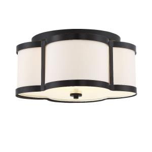 Lacey - Three Light Semi-Flush Mount