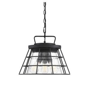 Farnham - Three Light Convertible Semi-Flush Mount/Pendant