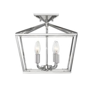Townsend - Four Light Semi-Flush Mount