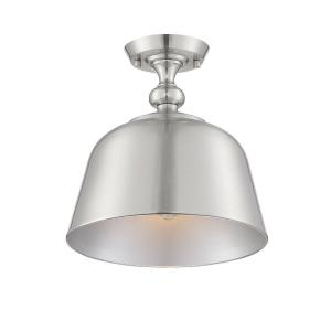 Berg - 1 Light Semi-Flush Mount