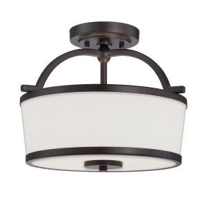 Hagen - Two Light Semi-Flush Mount
