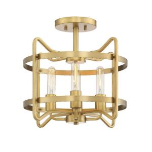 Kent - 4 Light Semi-Flush Mount