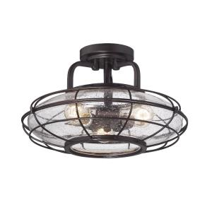 Connell - Three Light Semi-Flush Mount