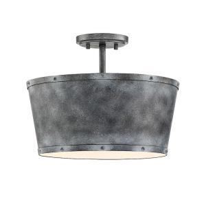 Dover - Three Light Semi-Flush Mount