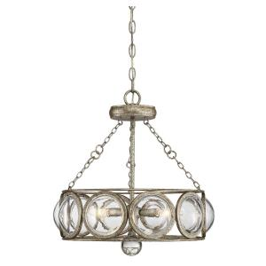 Warwick - Three Light Convertible Semi-Flush Mount