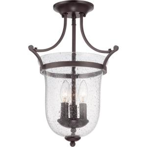 Trudy - Three Light Semi-Flush Mount