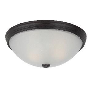 Two Light 13 Inch Flush Mount