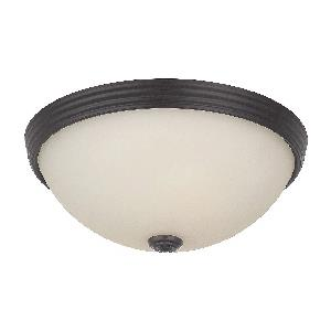 Two Light 11 Inch Flush Mount