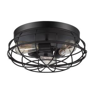 Scout - Three Light Flush Mount