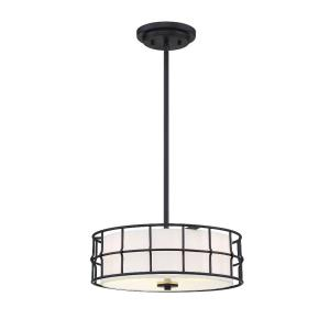 3 Light Convertible Semi-Flush Mount-Contemporary Style with Industrial and Transitional Inspirations-5.25 inches tall by 15 inches wide