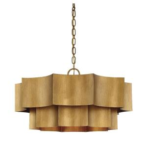 Shelby - Six Light Pendant