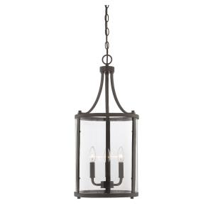 3 Light Small Foyer-Transitional Style with Traditional and Contemporary Inspirations-26 inches tall by 12 inches wide