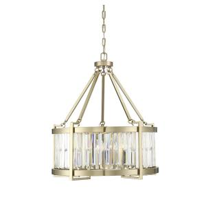 5 Light Pendant-Transitional Style with Contemporary and Glam Inspirations-28.75 inches tall by 25 inches wide