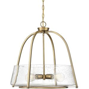 4 Light Pendant-Transitional Style with Contemporary and Bohemian Inspirations-21 inches tall by 22 inches wide