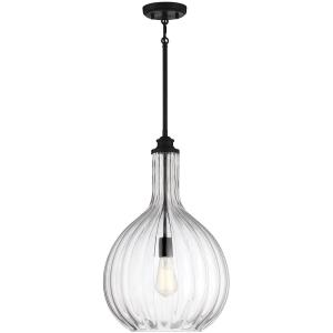1 Light Pendant - 22 inches tall by 14 inches wide