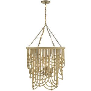 4 Light Pendant - 35.5 inches tall by 22 inches wide