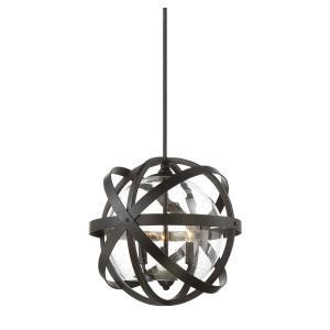 Bassett - Three Light Outdoor Pendant
