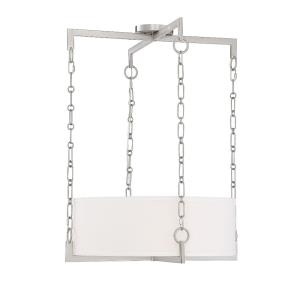 4 Light Pendant - Transitionalstyle with Contemporary and Farmhouse inspirations - 8 inches tall by 21.75 inches wide