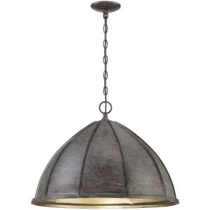 3 Light Pendant-16 inches tall by 23 inches wide