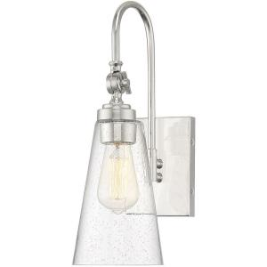 1 Light Wall Sconce - 16 inches tall by 5.5 inches wide
