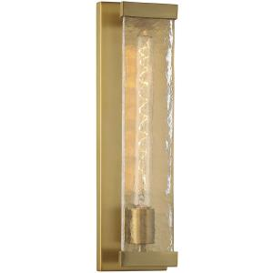 1 Light Wall Sconce-17.5 inches tall by 4.5 inches wide