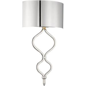 14W 1 LED Wall Sconce - 20 inches tall by 11 inches wide