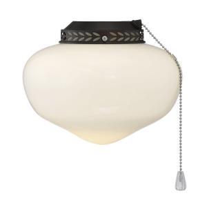 Schoolhouse - 9 Inch 9W 1 LED Fan Light Kit