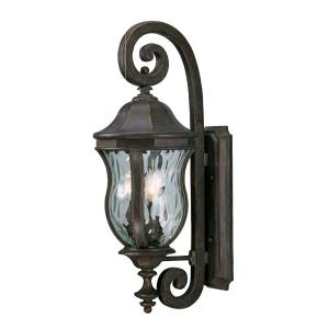 Monticello - Three Light Outdoor Wall Lantern