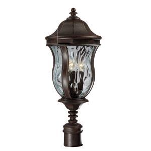 Monticello - Three Light Outdoor Post Lantern