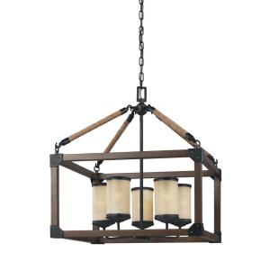 Dunning - Five Light Chandelier