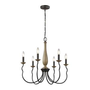 Samira - 6 Light Chandelier