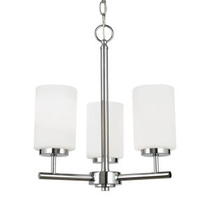 Oslo - 15 Inch 27.9W 3 LED Chandelier