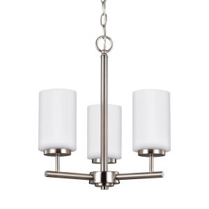 "Oslo - 15"" 27.9W 3 LED Chandelier"