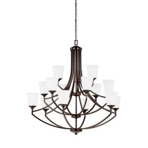 Hanford - Fifteen Light 3-Tier Chandelier